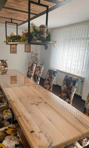 Eiche Vollholz Tisch